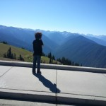 Looking over Hurricane Ridge